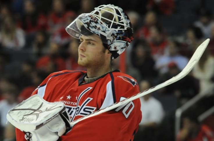 Washington Capitals Braden Holtby S Odd Nhl Debut