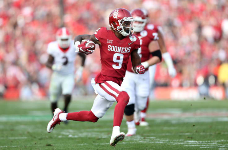 Oklahoma Football Ou Wide Receiving Corps Deep Dazzling And Dangerous
