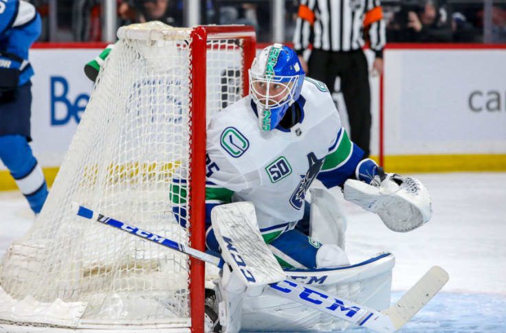 Canucks Need To Cut Back On Jacob Markstrom S Workload