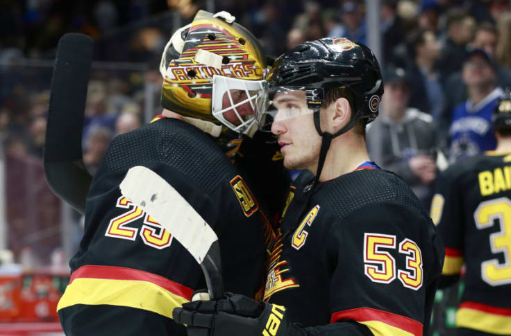 Canucks Jacob Markstrom Is Rapidly Driving Up His Value