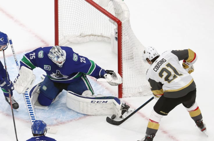 Canucks It Was Best To Let Jacob Markstrom Walk Away