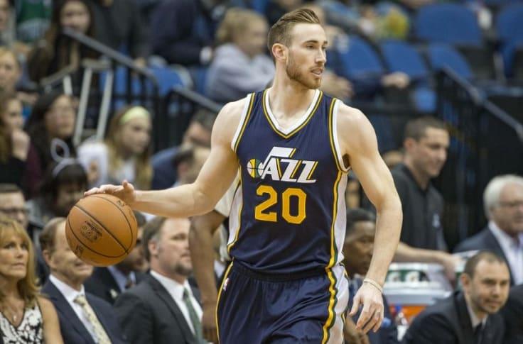 Utah Jazz Gordon Hayward Trade Rumors Already