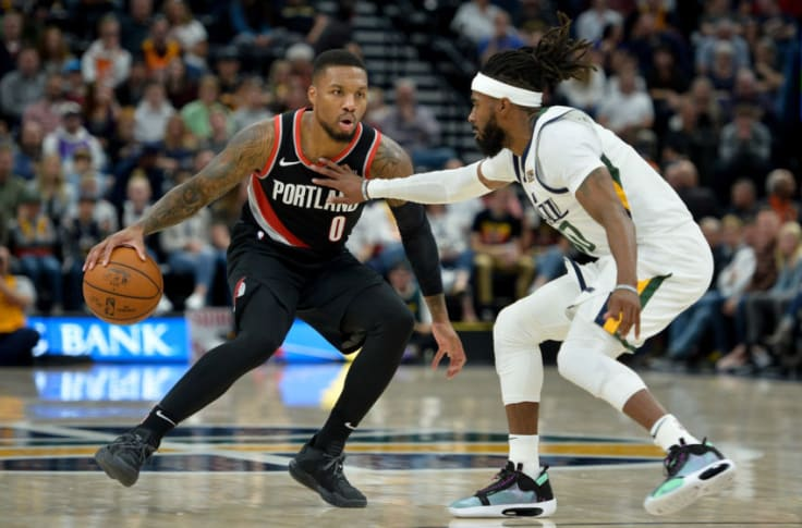 Utah Jazz S Defensive Woes Linger In Preseason Finale Vs Blazers