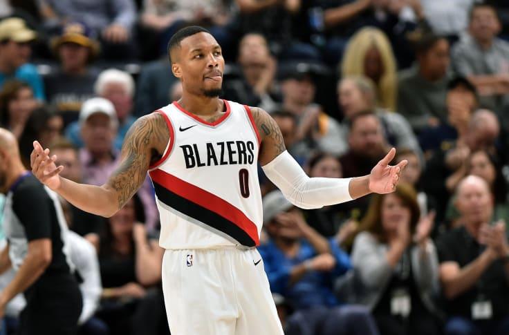 Utah Jazz Could Dennis Lindsey Swing A Trade For Damian Lillard
