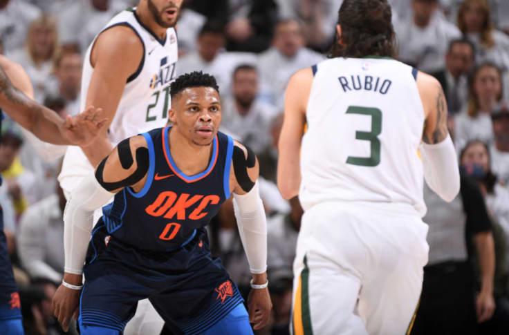 Utah Jazz Spoil Westbrook S Guarantee Take 3 1 Series Lead Over Thunder