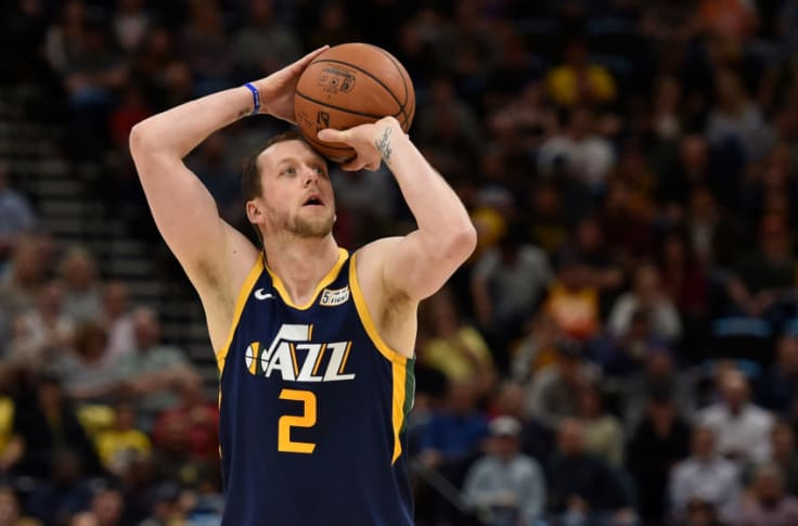 Utah Jazz Will Joe Ingles No 2 Jersey Hang In The Rafters One Day