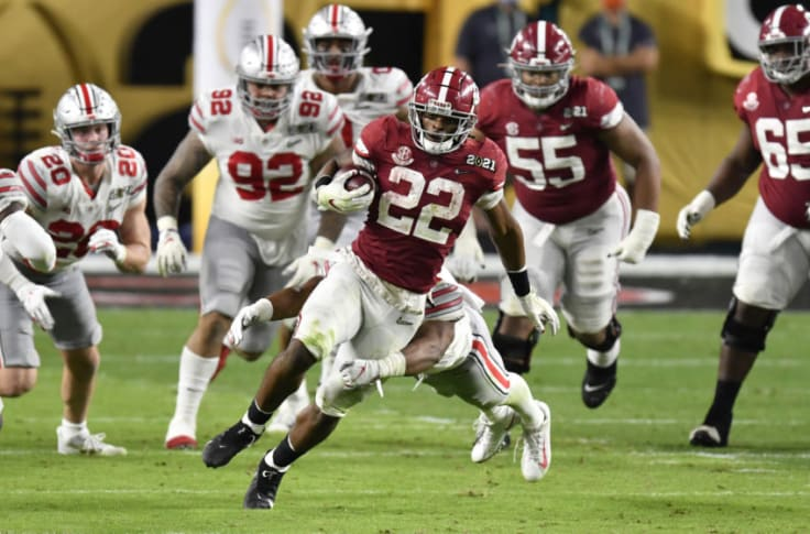 Tampa Bay Buccaneers: Najee Harris would be perfect draft choice