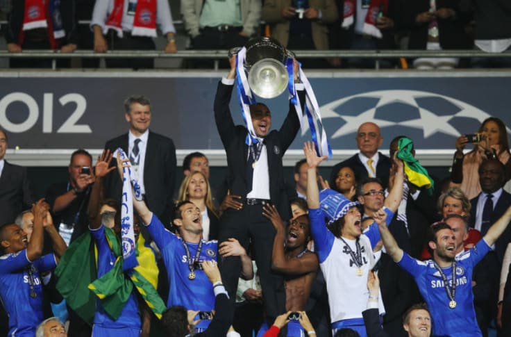 A player turned manager: Chelsea's Roberto Di Matteo