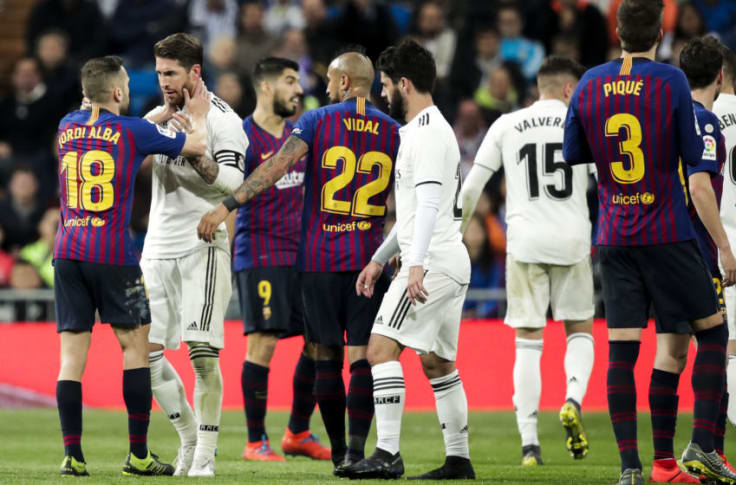 Real Madrid Vs Barcelona First 2019 2020 Clasico Date Time