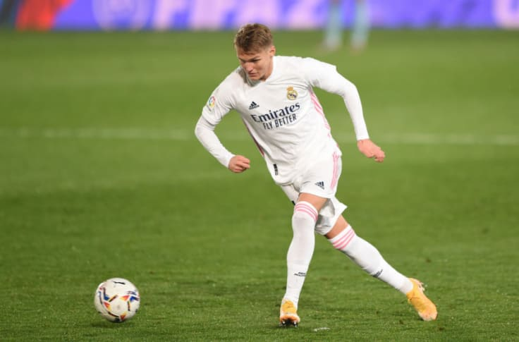 Real Madrid will not try to convince Martin Odegaard to stay
