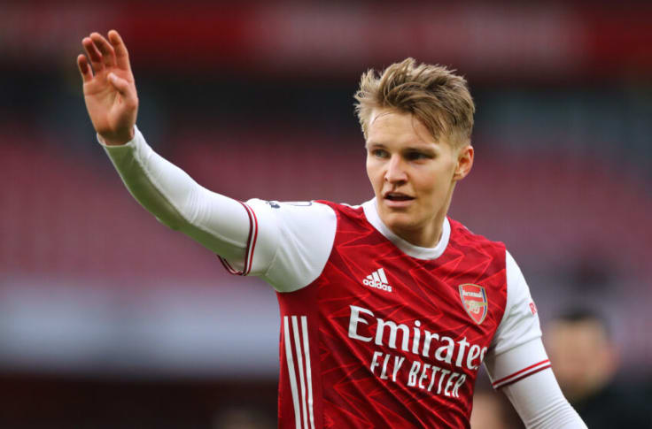 Real Madrid reportedly name their price to Arsenal for Martin Odegaard
