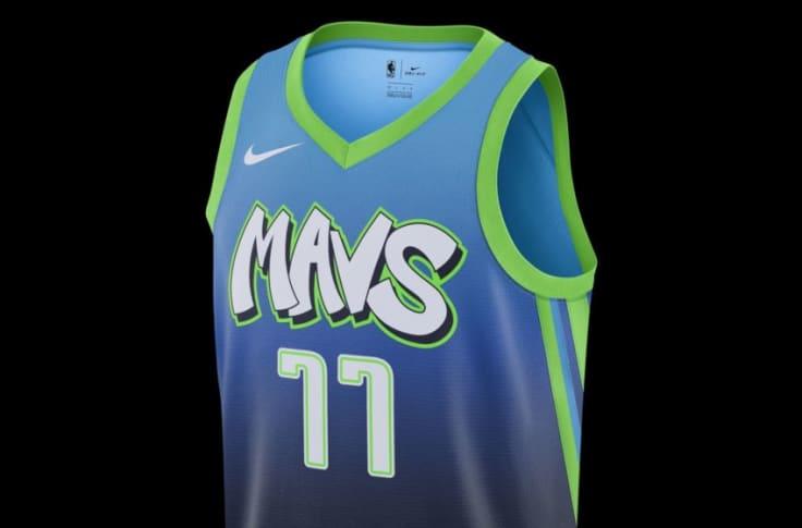 Interpretación Ardilla Hacia atrás  Get your Dallas Mavericks Nike City Edition jerseys now