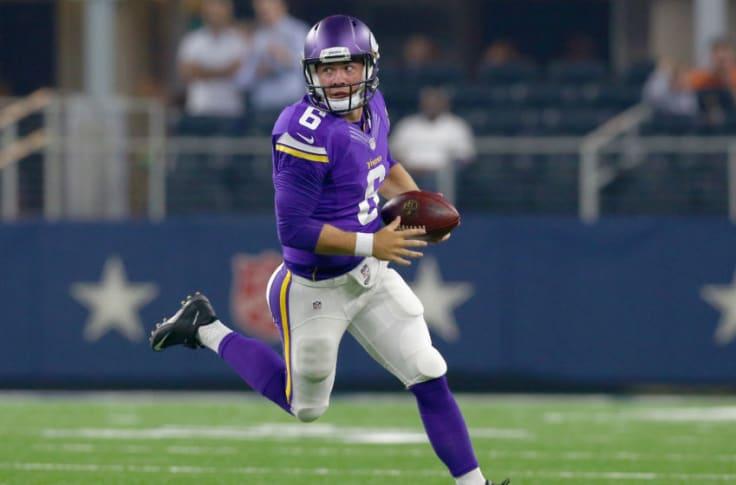 Former Vikings Qb Taylor Heinicke Impresses In Playoffs For Washington