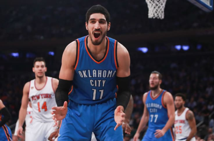 benefits of okc thunder keeping enes kanter out weigh negatives okc thunder keeping enes kanter out