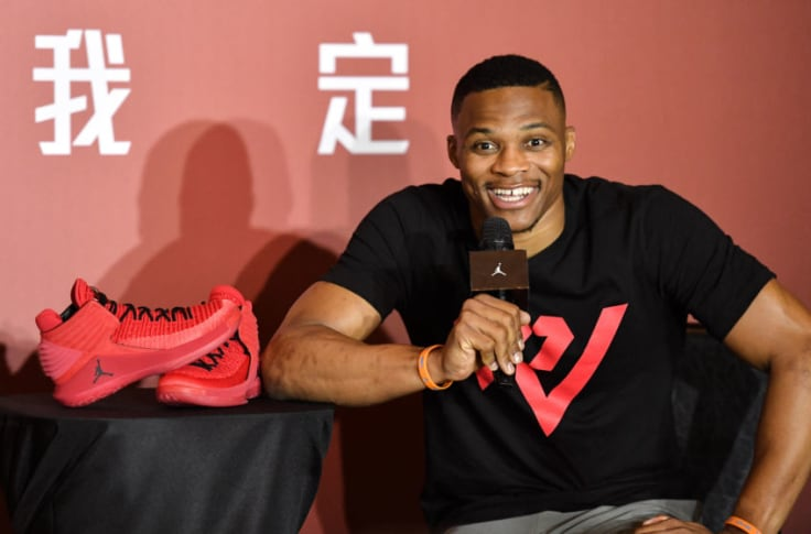Russell Westbrook pitch man for new Air