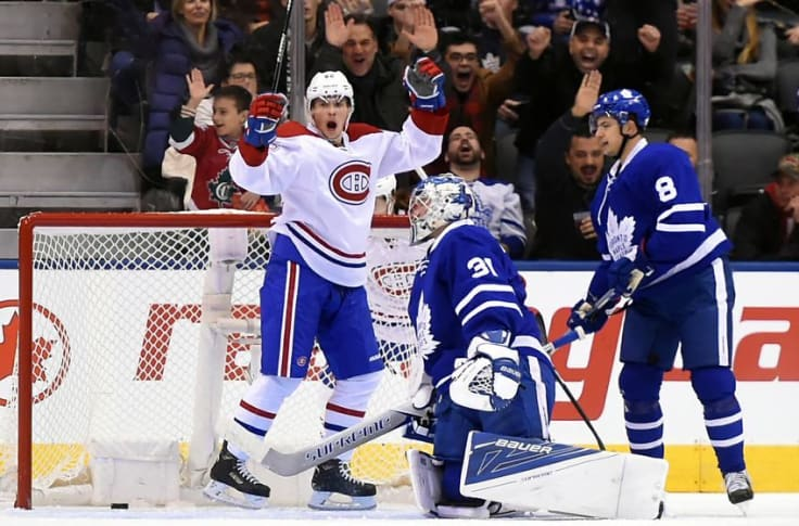Marner S Magic Not Enough Maple Leafs Fall 5 3 To Habs
