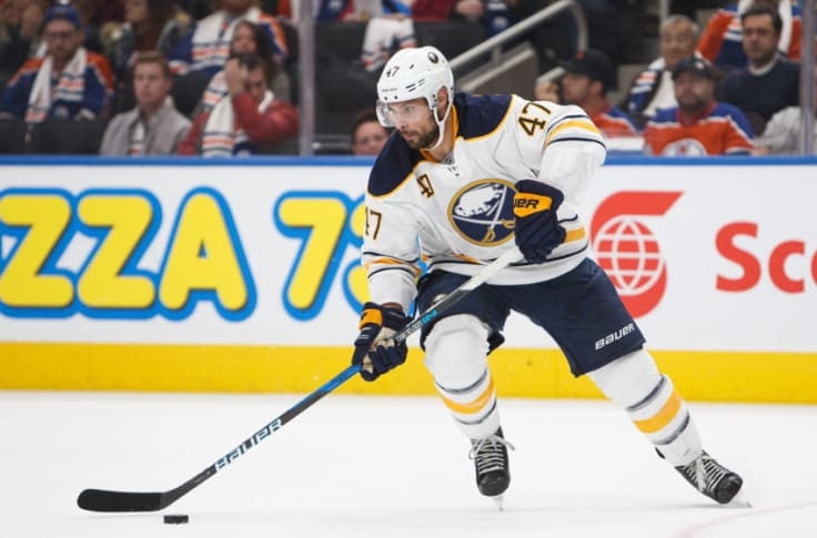 Buffalo Sabres Zach Bogosian Ruled Out Against Canadiens