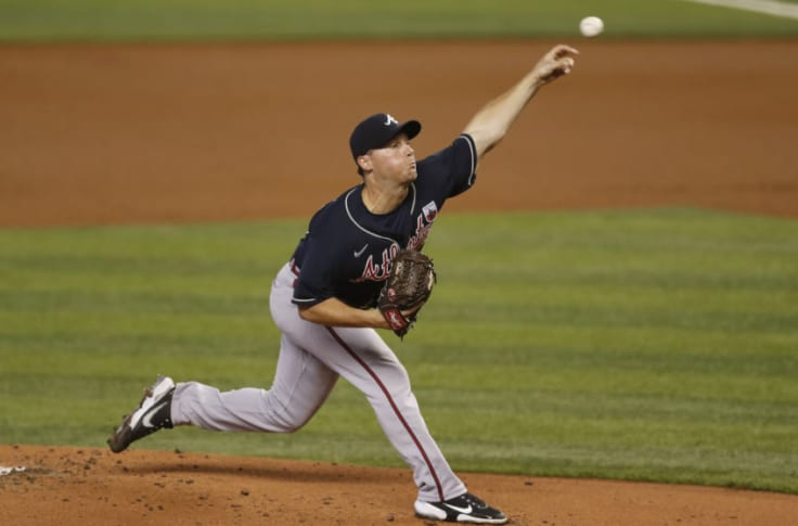 Atlanta Braves Pitching Shuts Out Miami On Two Hits