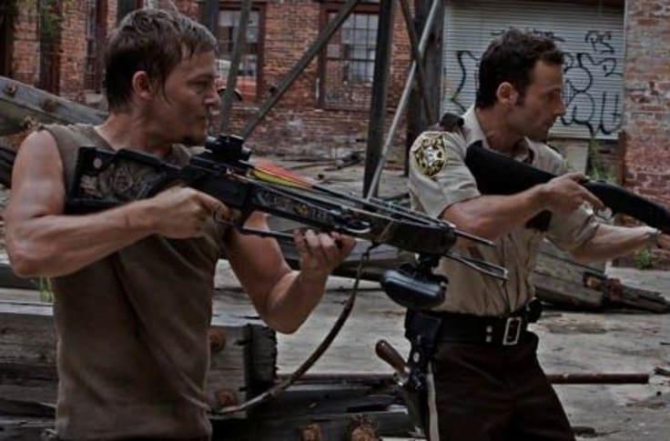 Daryl and Rick both made their debuts in season 1
