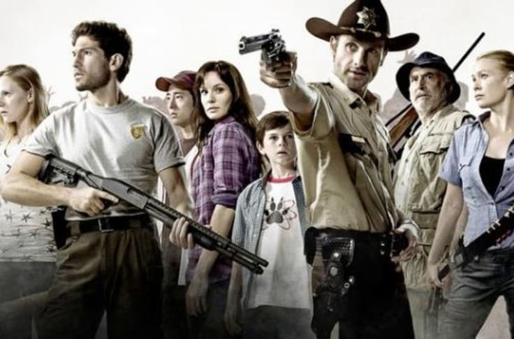 Season walking 1 cast dead 'Walking Dead: