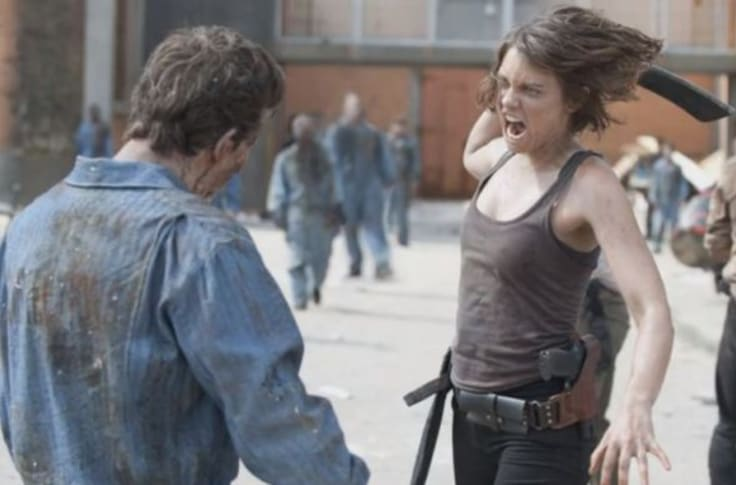 Lauren Cohan Almost Quit The Walking Dead Over One Scene