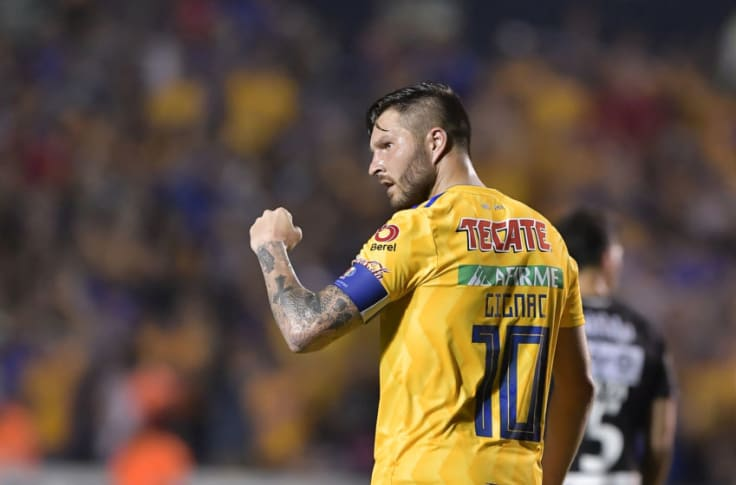 Gignac, Mena take star turns as Tigres and León keep pace
