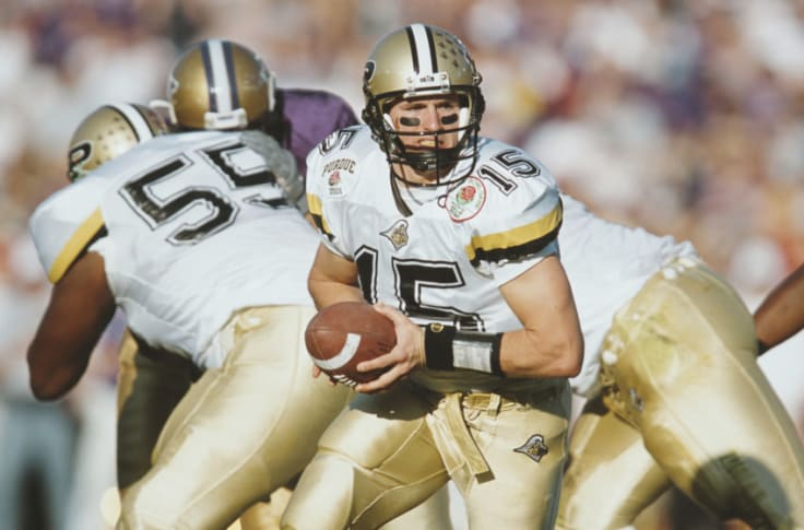 New Orleans Saints Drew Brees Speech Led Purdue To Victory