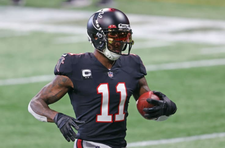 Saints: It looks like Julio Jones is on his way out of the NFC South
