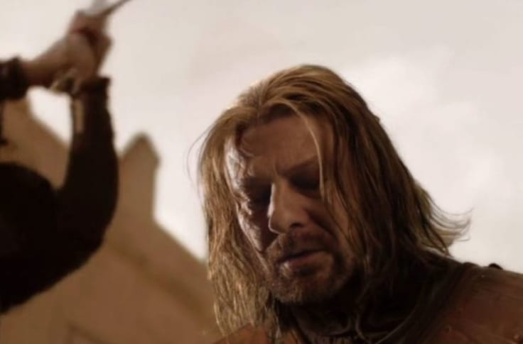 Game of Thrones Ned Stark character arcs