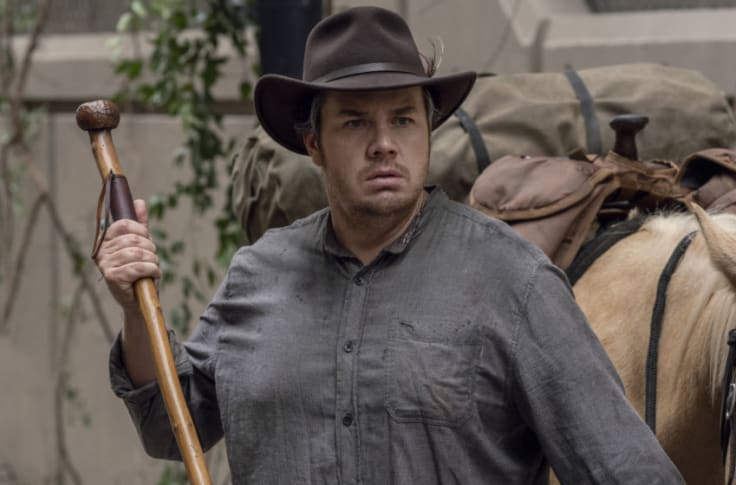 The Walking Dead Cut A Funny Distracting Eugene Sex Scene Ever wonder what gives josh potter's right eye that particular shade of cloudiness? funny distracting eugene sex scene