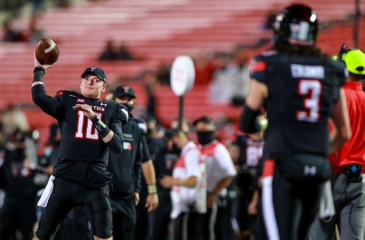 Texas Tech Football Report Suggests Both Qbs Will Play Vs Baylor