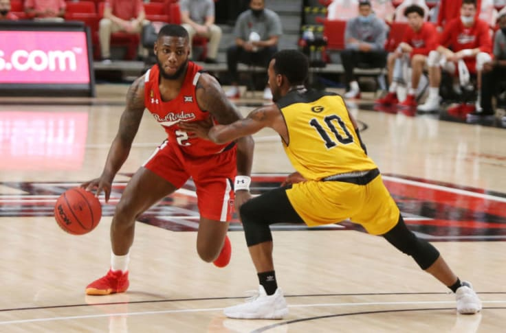 Texas Tech Basketball Red Raiders Blow Past Grambling After Struggles