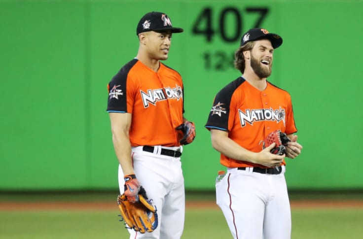 Yankees: Comparing Giancarlo Stanton to Bryce Harper