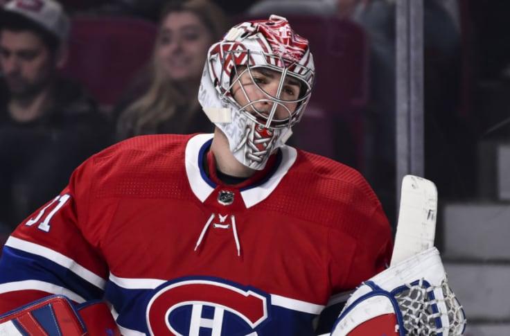 Carey Price Montreal Canadiens Player Swingman Jersey