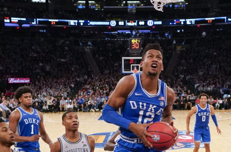 Duke Basketball Player Review: Javin DeLaurier has up-and-down season