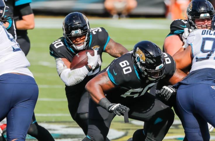Jacksonville Jaguars #75 Jawaan Taylor Draft Game Jersey - Black