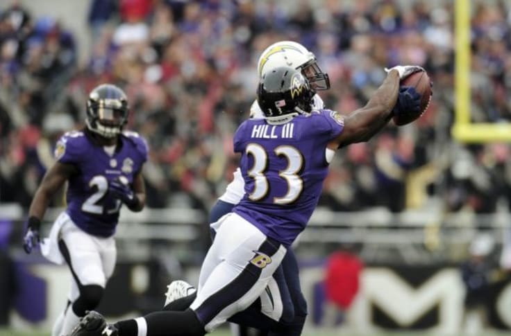 will hill ravens jersey