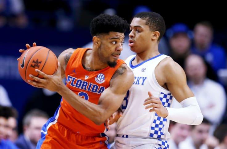 Jalen Hudson Florida Gators Basketball Jersey