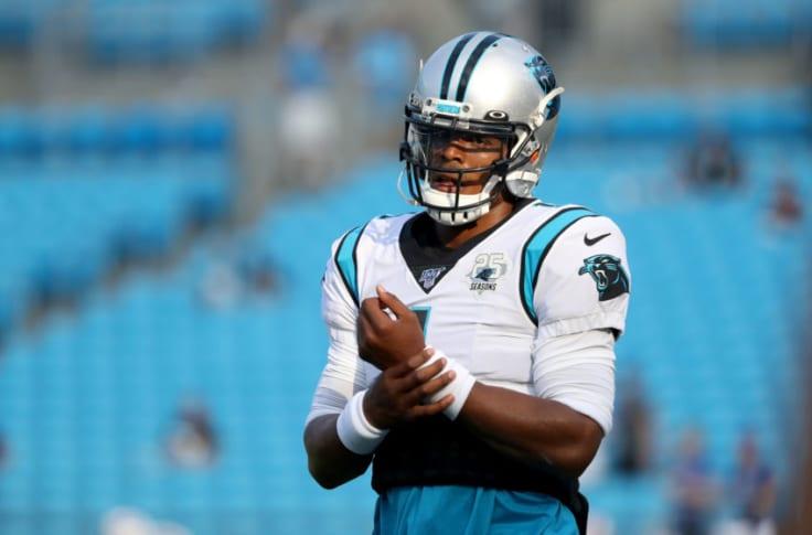 Cam Newton Carolina Panthers Game Jersey