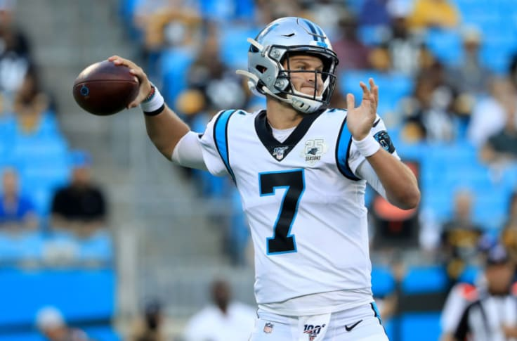 Carolina Panthers Kyle Allen on the verge of history