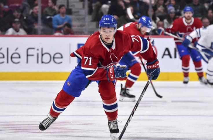 Canadiens: Jake Evans Makes Great First Impression With Habs
