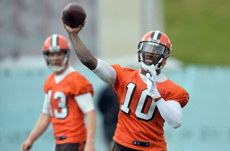 Cleveland Browns: RG3 among top training camp storylines