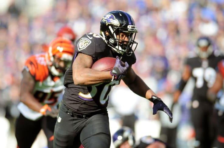 Kenneth Dixon NFL Jersey