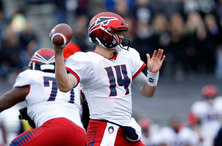 Christian Hackenberg's AAF debut was just as bad as you'd think