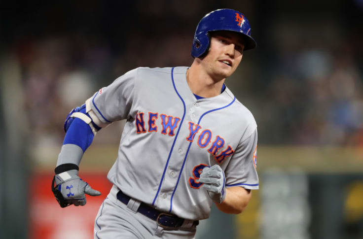 Brandon Nimmo's excuse for not wearing mask in-game part of problem