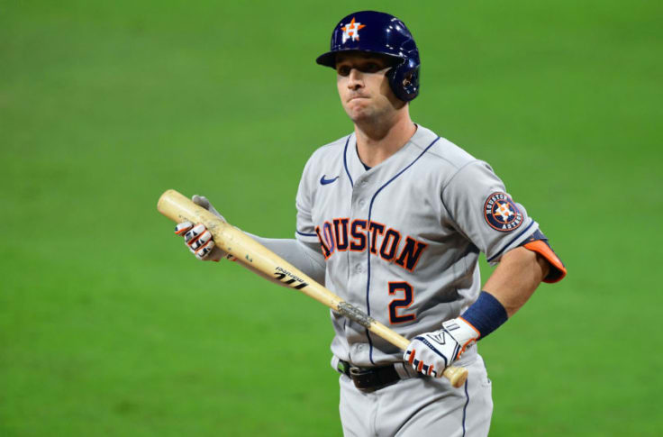 Alex Bregman Houston Astros Baseball Player Jersey