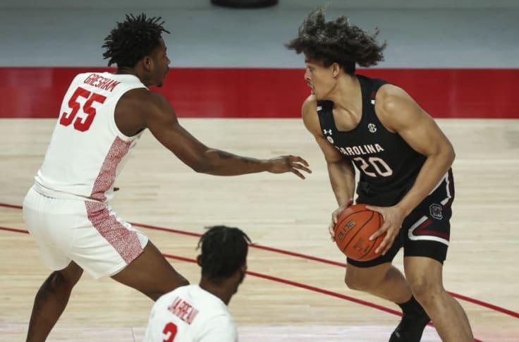South Carolina basketball: Alanzo Frink enters transfer portal