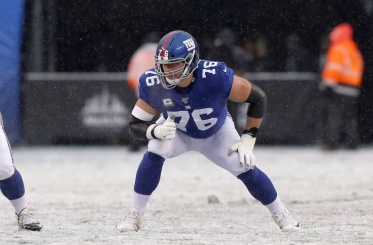 No place for Nate Solder on NY Giants after strong 2020 draft