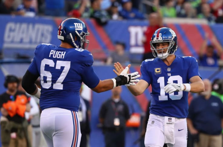 Former NY Giants OL Justin Pugh set to have his hands full