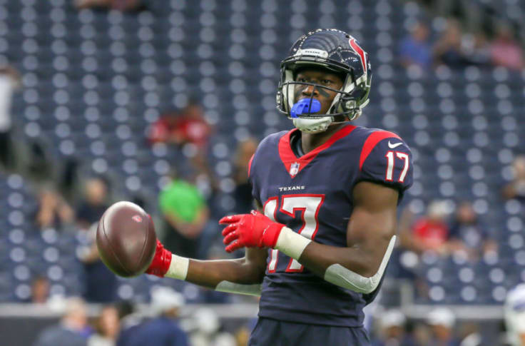 Houston Texans: Vyncint Smith's role will elevate with Keke Coutee out